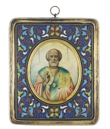 A TRAVELLING ICON OF ST. NICHO