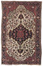 An antique Sarouk-Feraghan rug