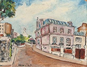 Le rue Norvins, Montmartre