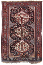 An antique Khamseh rug