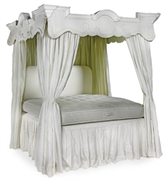A FOUR POSTER BED