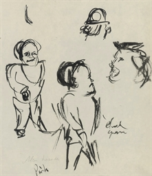 Twelve figure studies; togethe