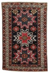 A East Caucasian rug & Senneh-