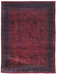 A fine Indo-Persian carpet