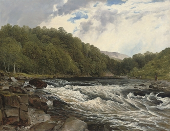 The river Awe, Argyllshire