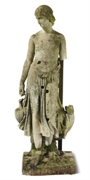 AN ENGLISH TERRACOTTA FIGURE O