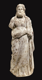 A GREEK MARBLE DIONYSOS