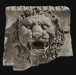 AN EASTERN ROMAN BASALT LION S