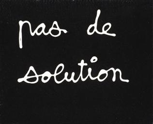 Pas de solution