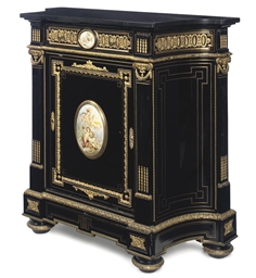A NAPOLEON III GILT-METAL AND