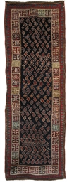 An antique Genje long rug
