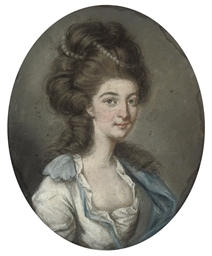 Portrait of Mrs. George Gun, h