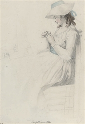 Portrait of Lady Emma Hamilton