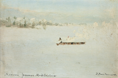 A snow-covered landscape