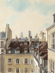 Les toits - vue de la rue Casi