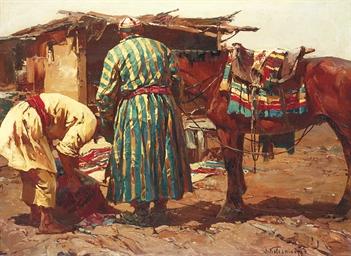 Les Sartes. Turkestan