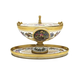 A SEVRES (OUTSIDE-DECORATED) S