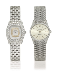 DELANEAU, ROLEX  SET OF TWO LA
