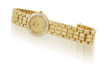 CHOPARD  LADY'S YELLOW GOLD AN