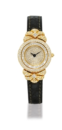 GRAFF  LADY'S YELLOW GOLD AND