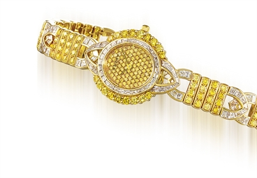GRAFF  LADY'S YELLOW GOLD, YEL