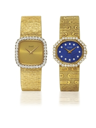 PIAGET  SET OF TWO LADY'S YELL