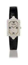 GRAFF  LADY'S WHITE GOLD AND D