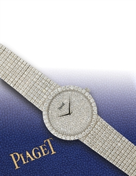 PIAGET  WHITE GOLD QUARTZ BRAC