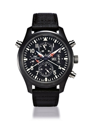 IWC, PILOT'S WATCH DOUBLE CHRO