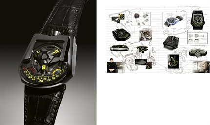 URWERK, UR-201, BLACK SHARK  P