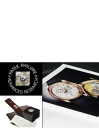 PATEK PHILIPPE, ADVANCED RESEA