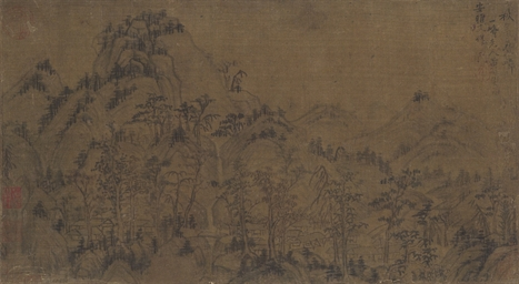 HUANG GONGWANG (1269-1354, ATT