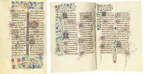 PSALTER HOURS, Use of Rouen, i