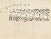 HENRY VIII (1491-1547), King of England. Letter signed (at head, 'Henry R') to the Treasurer of the Chamber, Sir John Heron, Richmond, 22 November 1511, extending until Easter an obligation upon the London merchants Richard Gresham and William Cop[e]land to pay 3,000 crowns at 4s 3d the crown within 3 months, 'wherfore we woll and commaunde you to see that neither they ne any of theire suerties susteigne any losse or dammage, by force of the said obligacion, for lak of noon payment of the said money tyll Ester next commyng', in English, 11 lines written in a neat and regular secretary hand on vellum, one membrane, 215 x 270mm, address panel on verso.