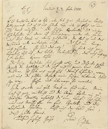 SCHILLER, Friedrich (1759-1805
