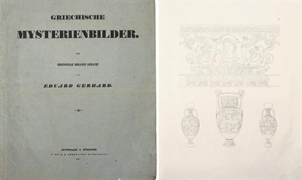 GERHARD, Eduard (1795-1867). A