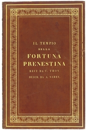 NIBBY, Antonio (1792-1839).  I