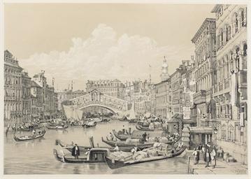 PROUT, Samuel (1783-1852). Ske