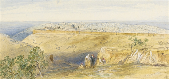View of Jerusalem from the Mou