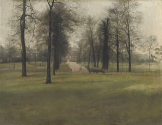Kensington Palace, seen throug