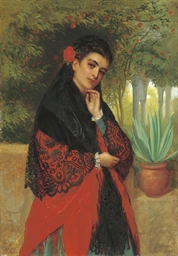 A Spanish beauty