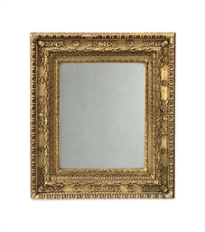 AN ITALIAN GILTWOOD PICTURE FR