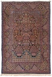 A fine Kashan prayer rug
