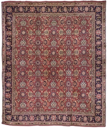 A LARGE ENGLISH CARPET OF AFSH