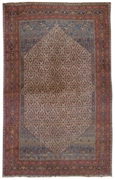 An antique Bijar carpet