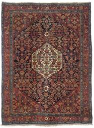 A fine antique Bijar rug