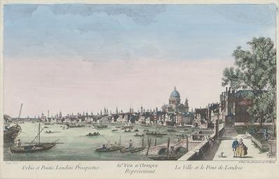 La Ville et Pont de Londres; V