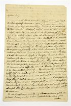 BURKE, Edmund (1727-1797). Autograph letter signed ('Edm. Burke') to John King, n.p., 1 May 1791, 4 pages, folio, on a bifolium.