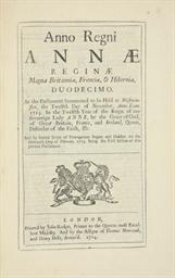 LONGITUDE - 12 Anne cap. 14.