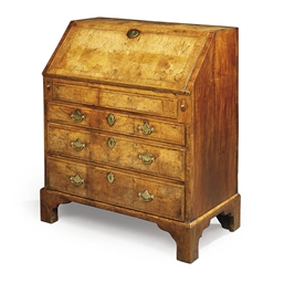 A QUEEN ANNE WALNUT BUREAU